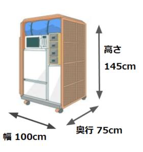 佐川急便単身パックのボックスサイズ